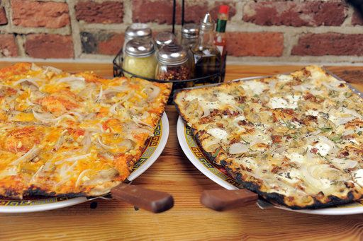 Joe Squared Baltimoresun Com Food Crawl Square Pizza Clam Pizza