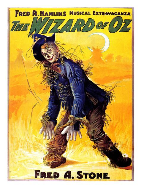 Vintage Theatre Poster - The Wizard of Oz