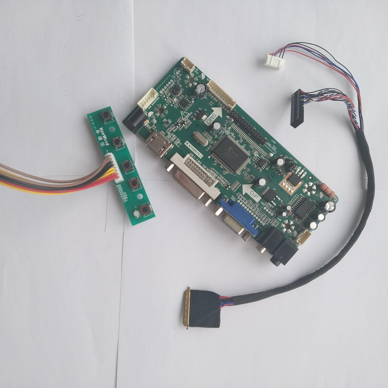 Sheled Lcd Hdmi Dvi Vga Controller Board Diy For 40pin Lp173wd1 Tl C4 Lp173wd1 Tl D1 1600x900 Screen Monitor Card Hdmi Vga Laptop Repair