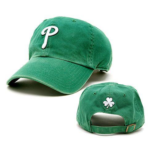 2f0bd16bd Philadelphia Phillies St. Patrick's Day Cleanup Adjustable Cap | If ...