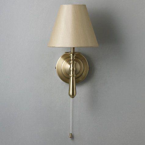 sloane wall light john lewis antique brass and walls