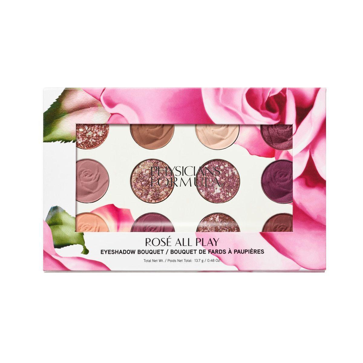PF Rosé All Play Eyeshadow Bouquet Physicians formula