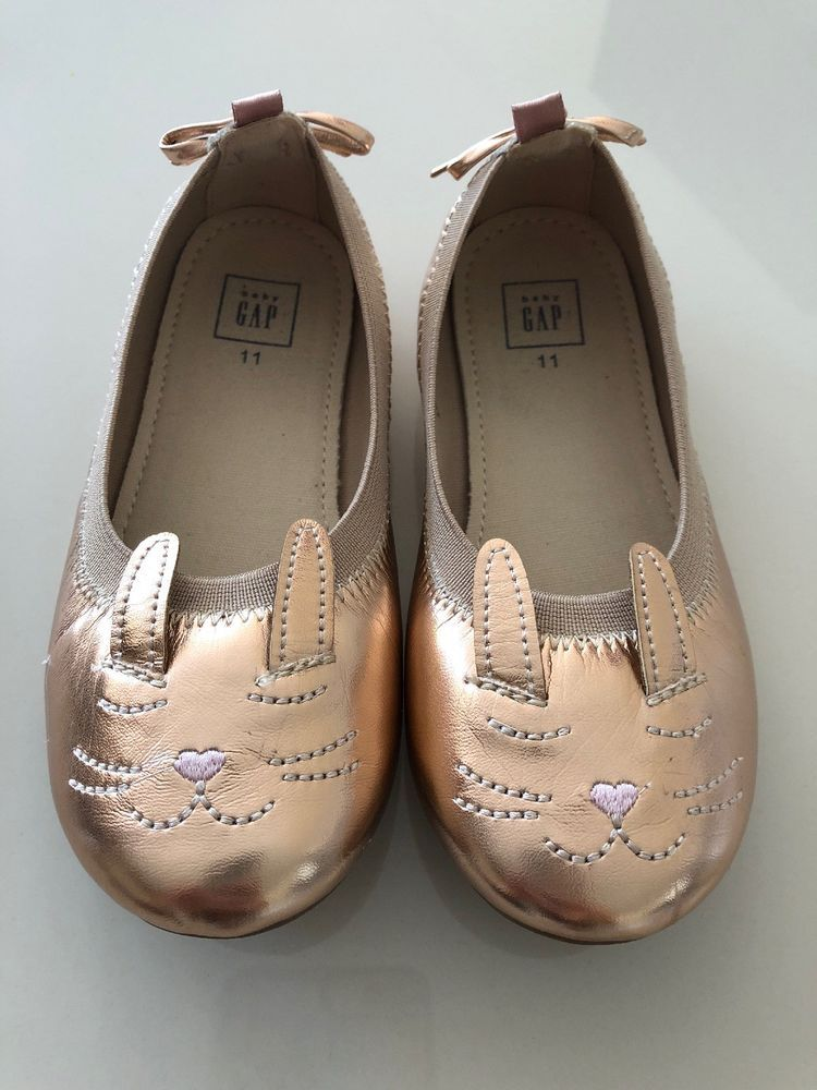 070e9282fe4ff1 NEW GAP kitten Ballet Flat Rose Gold Size 11  fashion  clothing  shoes   accessories  kidsclothingshoesaccs  girlsshoes (ebay link)