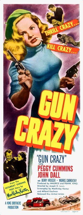 Gun crazy aka deadly is the female film noir by - Dekoration kino ...