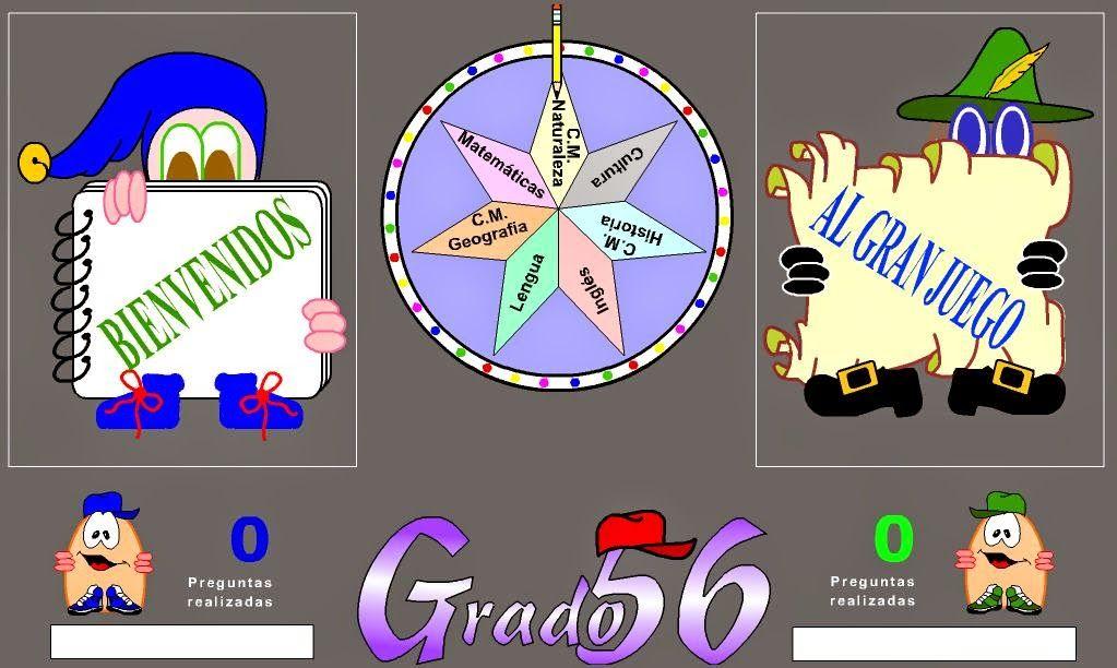 Grado 56 Juego Del Trivial Para Aprender Y Repasar Ayuda Para Maestr S Juegos Educativos Online Juegos Educativos Juegos Para Aprender