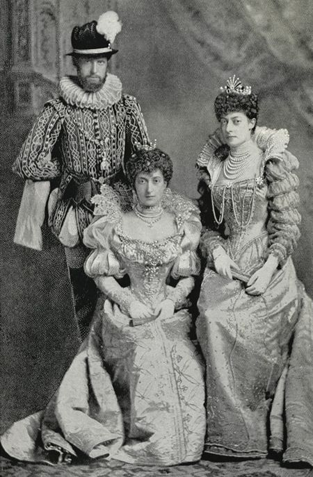 Prince And Princess Carl Of Denmark Later King Haakon VII 1872 1957