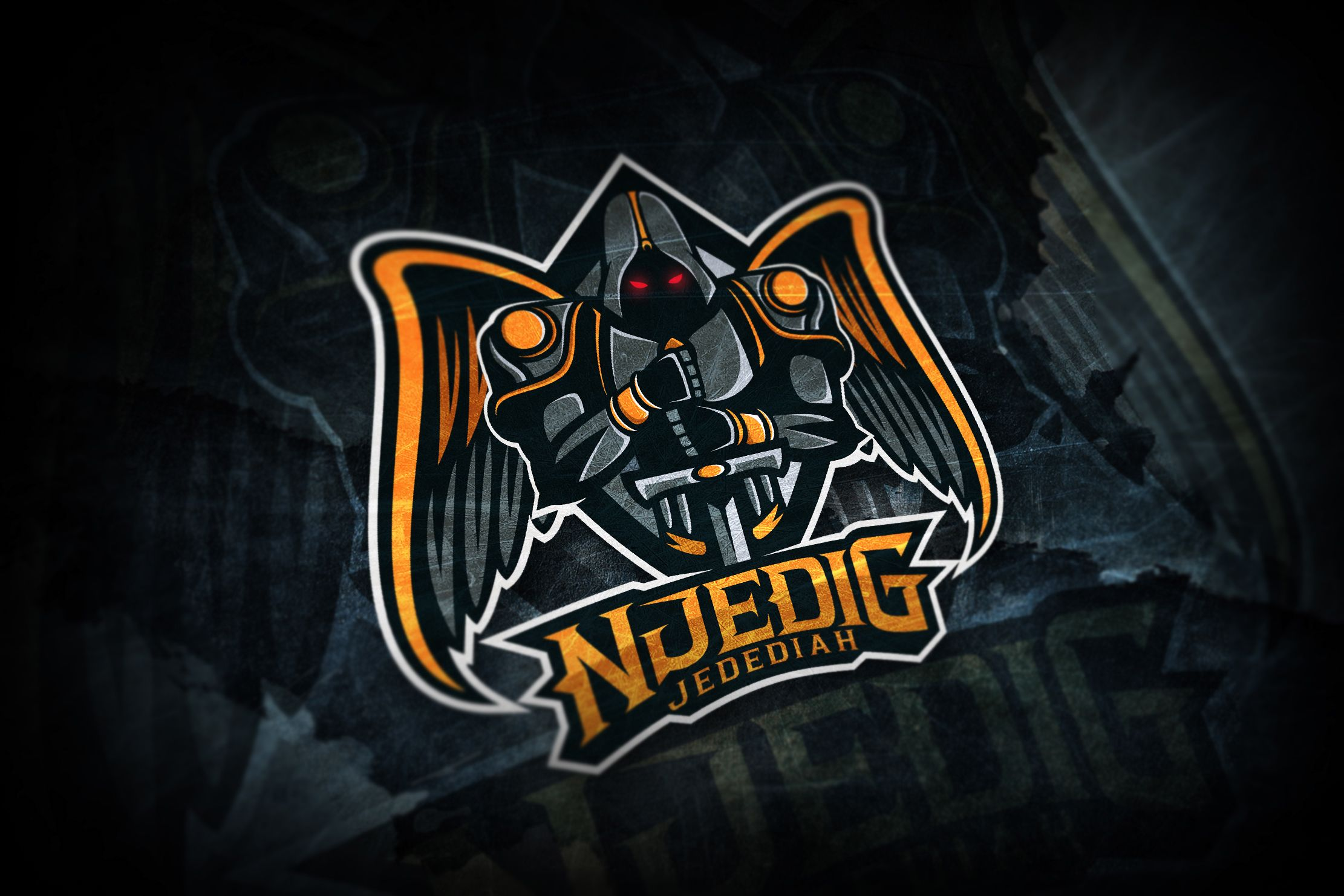 "Check out this Behance project """"NjediG Jedediah"" Esport"
