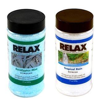 Eucalyptus Mint & Tropical Rain Aromatherapy Crystals - 2 Pack