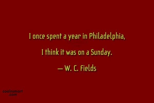 W.C. Fields Quotes Images, Pictures CoolNSmart Image