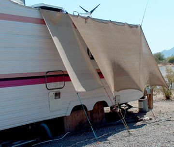 Keeping your RV cool in hot summer heat    hmmm, might have