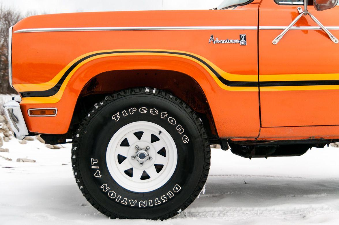 Dodge Powerwagon 1978 Omaha Orange002 Old dodge trucks