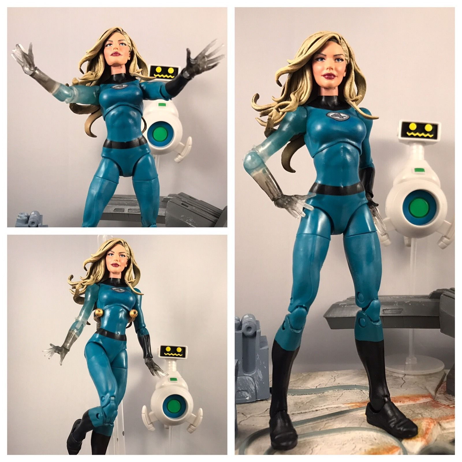 Marvel Legends Series Fantastic Four Invisible Woman Walgreen/'s Exclusive