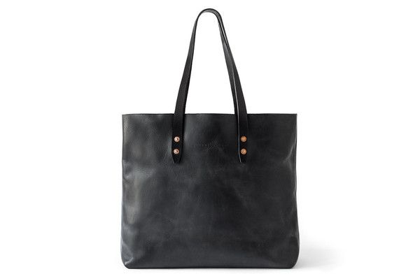 The Vintage Tote Bag - Black