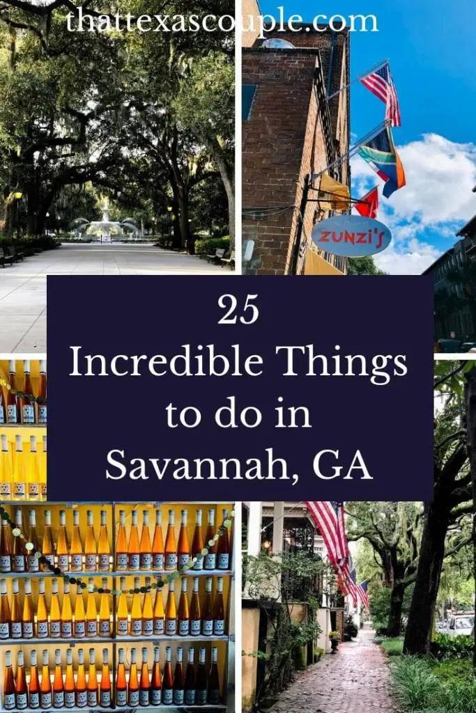 25 Incredible Things To Do In Savannah Ga Savannah Chat Things To Do Georgia Vacation