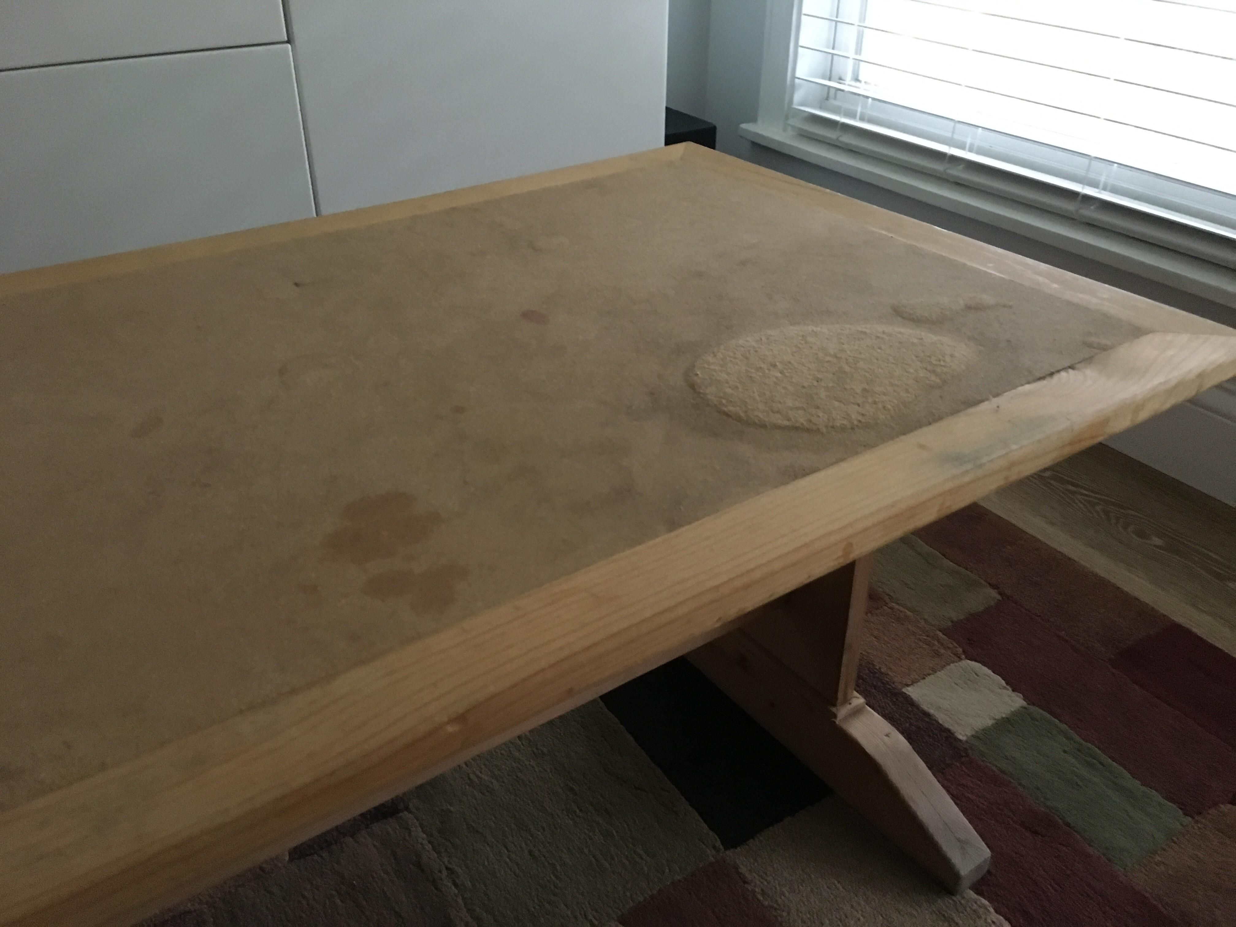 Can This Be Repaired Childrens Table With Water Damaged Mdf Top Https Ift Tt 2dp7iqw Wood Repair Mdf Furniture Water Damage