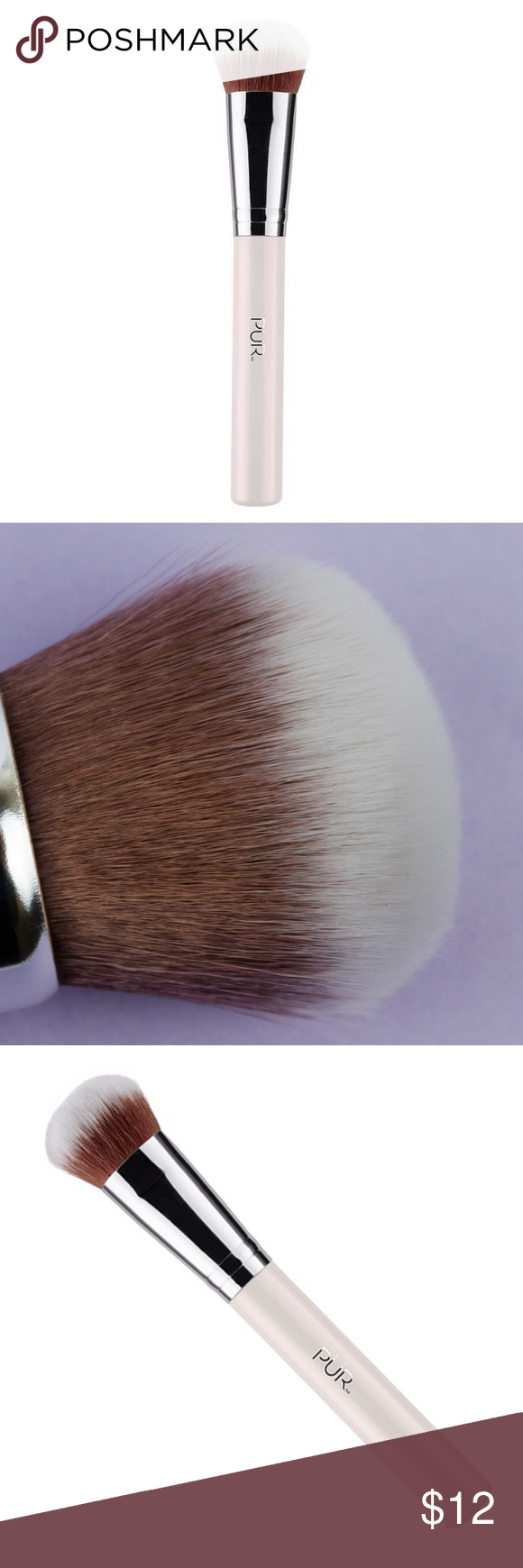 PÜR Contour Blending Brush Blending brushes, Pur makeup