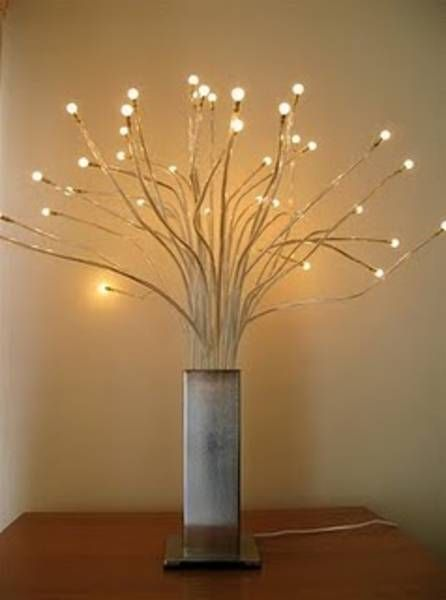 Tree Lamp From Ikea Creates The Perfect Soft Lighting Lamp Led Table Lamp Chrome Lights