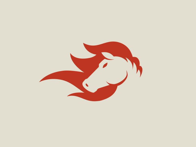Horse Icon Graphic Design Blog Logo Design Love Logo Design Creative