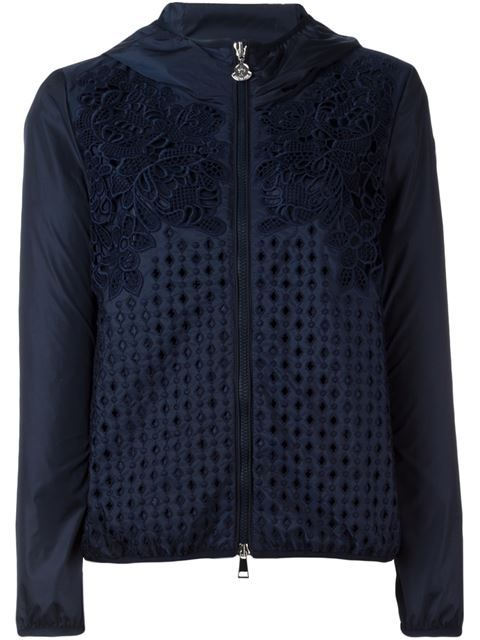 770295a39 MONCLER 'Vive' Crochet Jacket. #moncler #cloth #jacket | Moncler ...