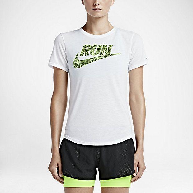 Nike Run Swoosh Print Foundation Women's T-Shirt