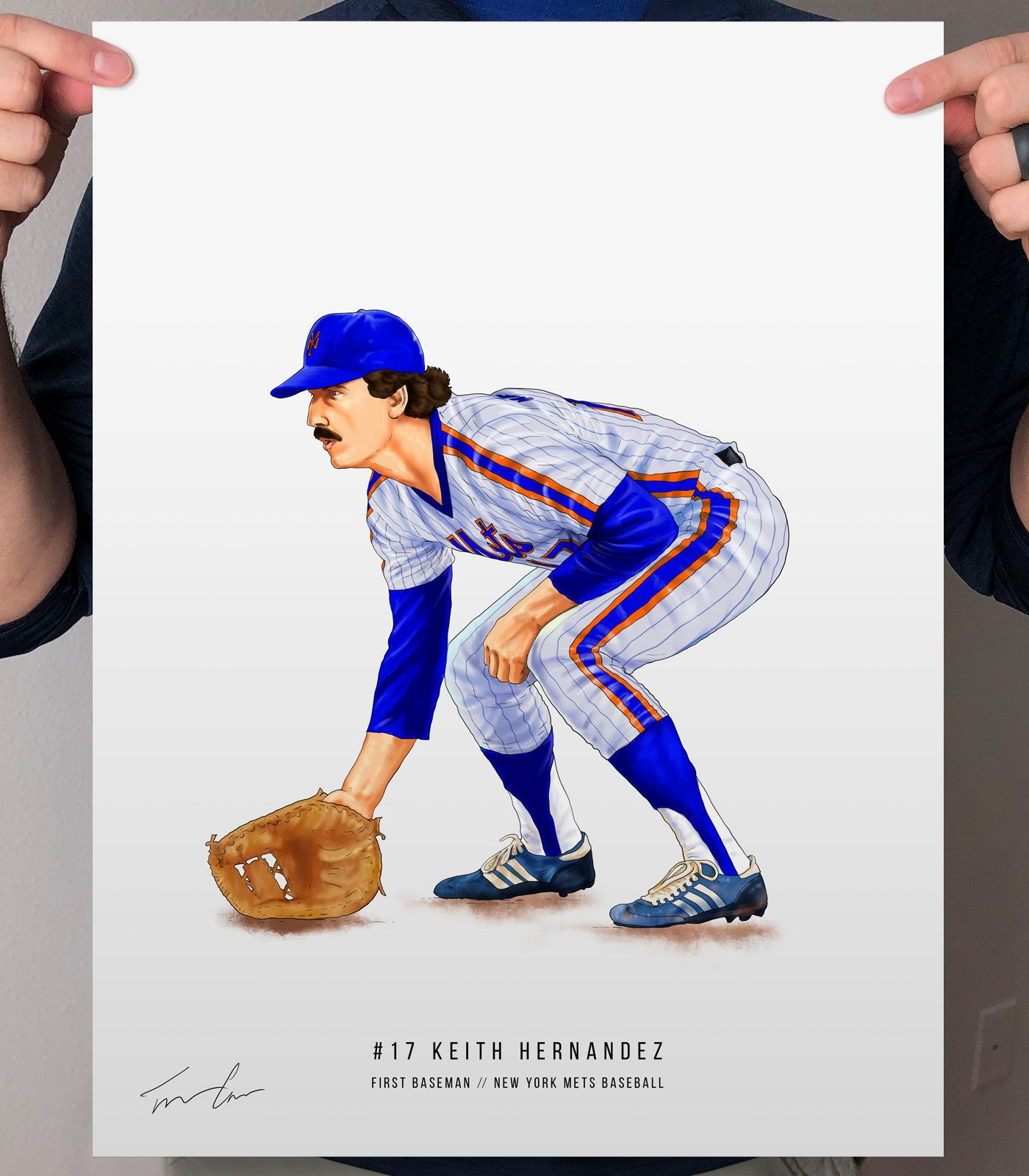 Keith Hernandez 1986 New York Mets Baseball Illustrated