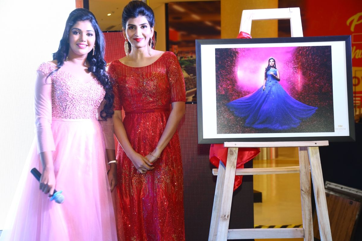 Actress Riythvika Launched Diadem Fairytale Collection