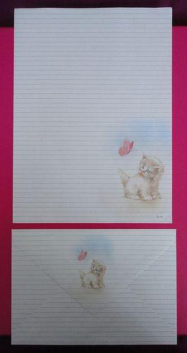 Vintage Kartos letter set / Hoja y sobre Kartos | Flickr - Photo Sharing!