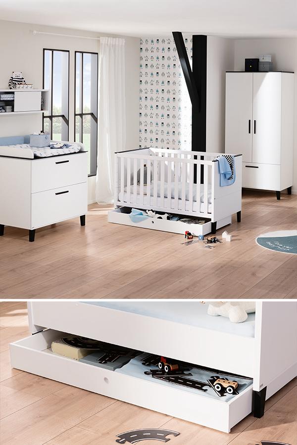 Babyrooms Box Bed Side Bed Soft Flooring
