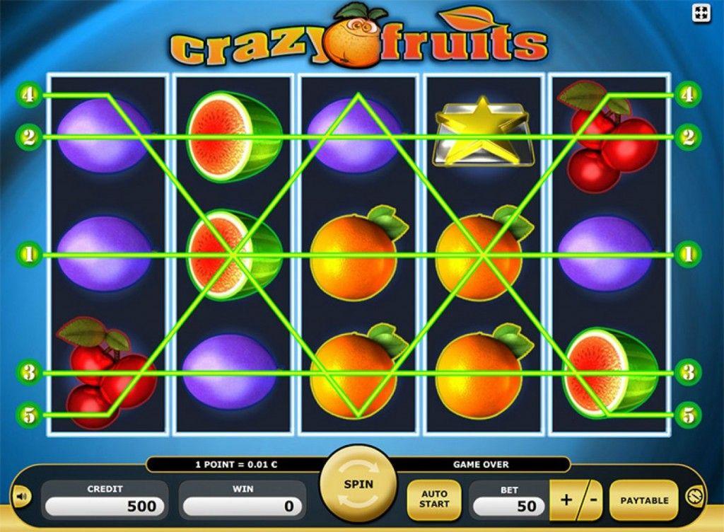crazy fruits kostenlos spielen