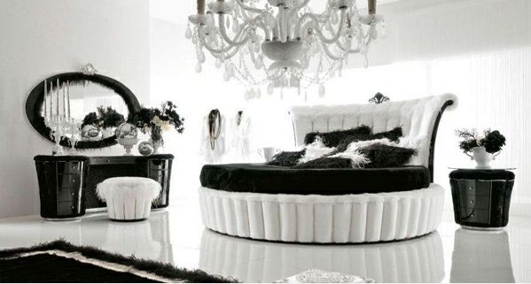 1000 images about black white on pinterest schlafzimmer schlafzimmer modern luxus - Schlafzimmer Luxus