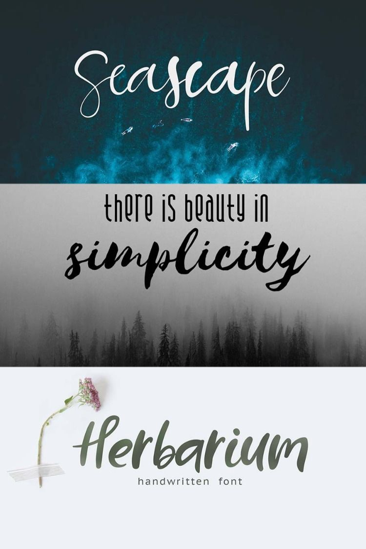 Free New Year Fonts for Your Logo in 2019 Handwritten