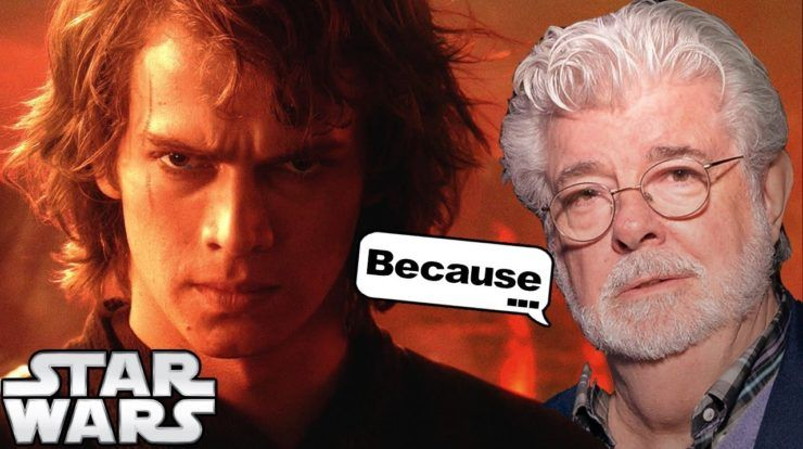 George Lucas Reveals Why Anakin Thought The Jedi Are Evil Point Of View Star Wars Theories Star Wars George Lucas