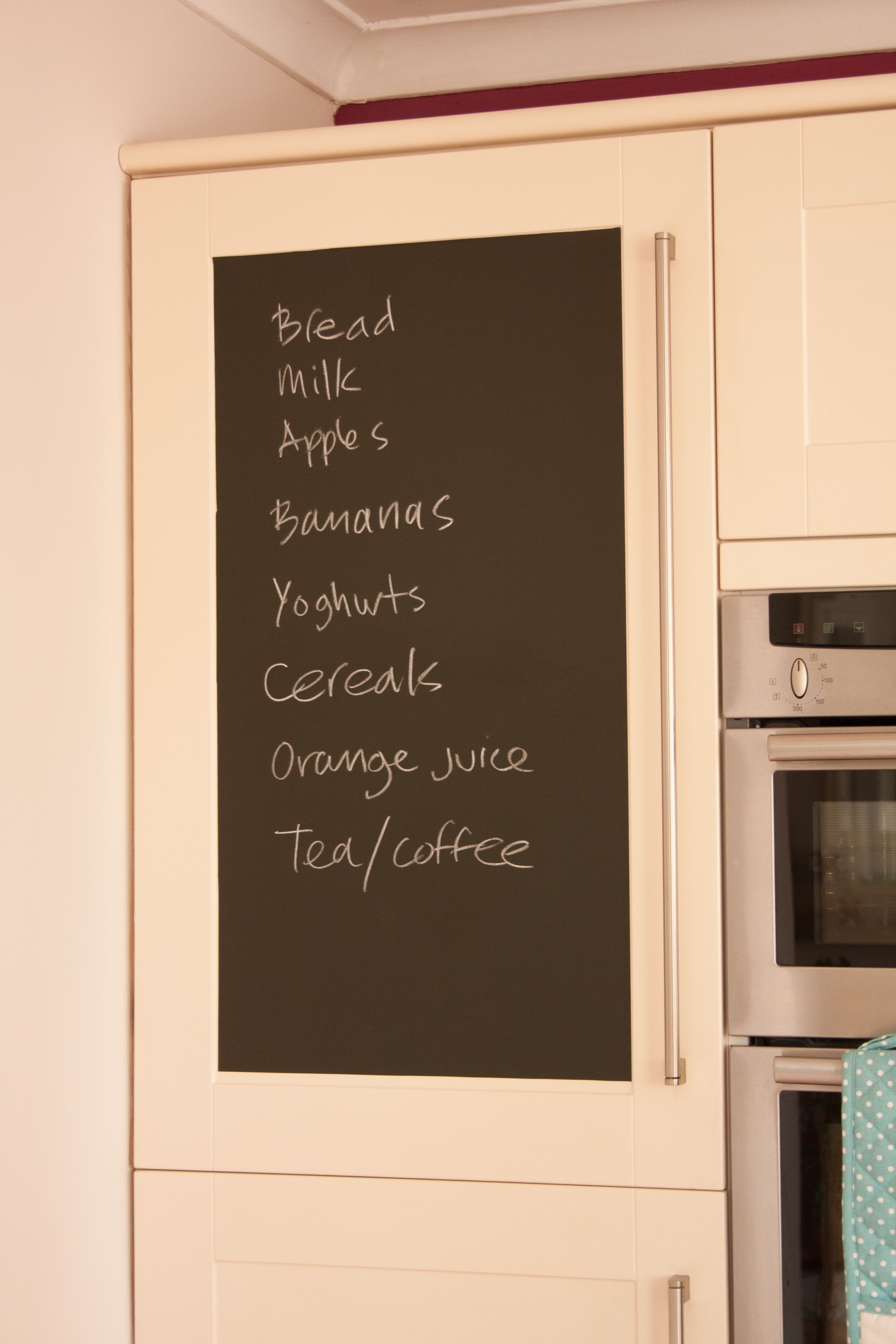 dcfix® peel and stick chalkboard film can be used on walls  - dcfix® peel and stick chalkboard film can be used on walls cupboards
