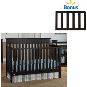 Fisher Price Newbury Crib With Bonus Toddler Rail Espresso Walmart For 139 98 With Images Cribs Superhero Room Fisher Price