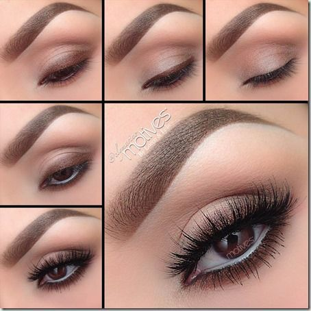 Machiaj De Zi Pas Cu Pas 20 Share With Us Make Up Augen Braune
