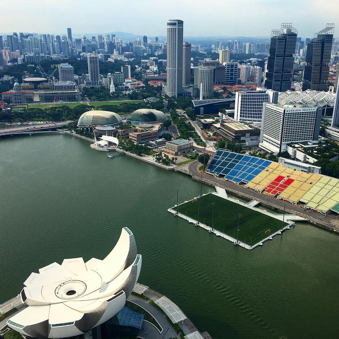 The Float At Marina Bay Superstadiumss Twitter Marina Bay Singapore Stadium