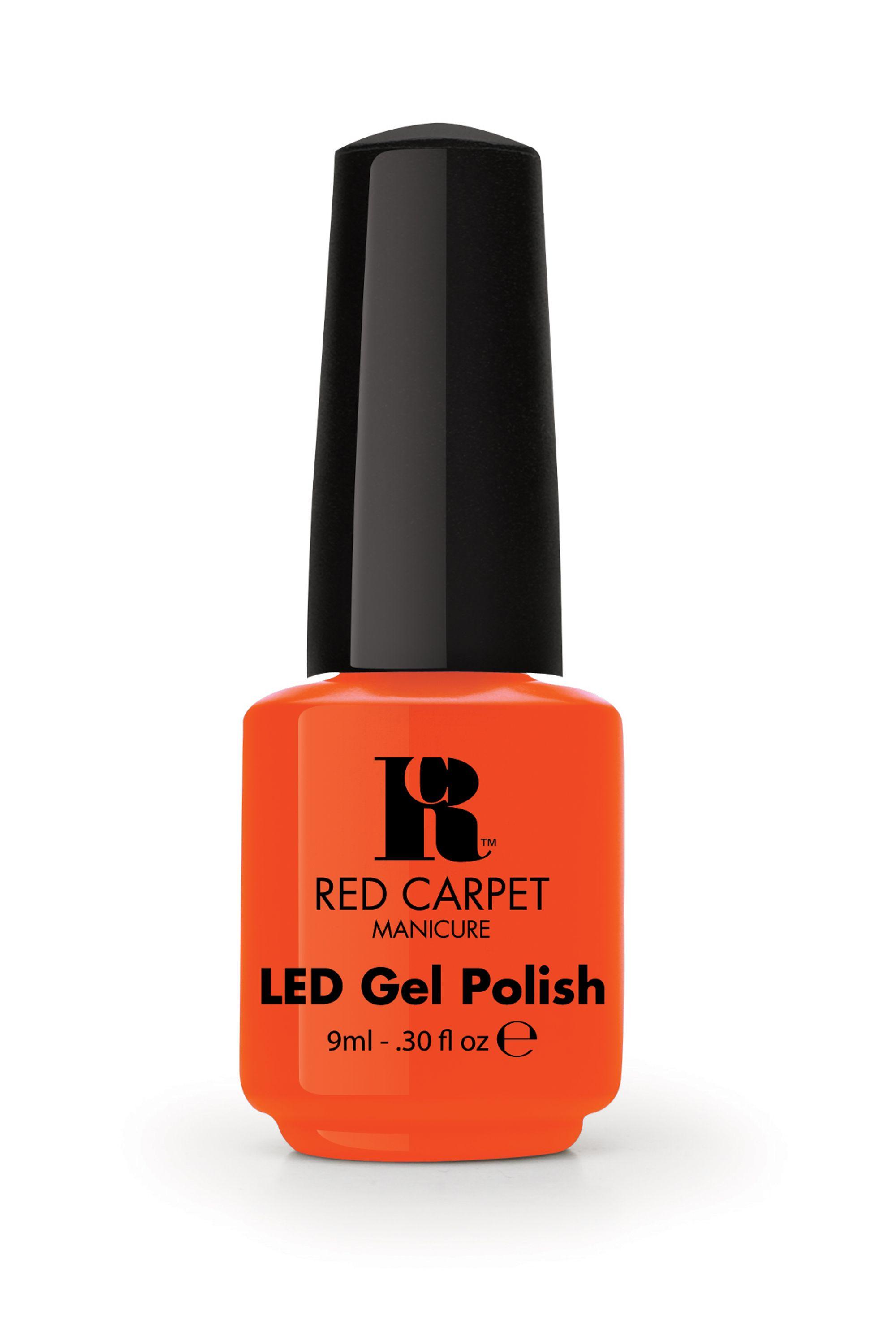 Red Carpet Manicure Tangerine On The Rocks Gel Polish Redcarpetmanicure Gelpolish Nails Orange