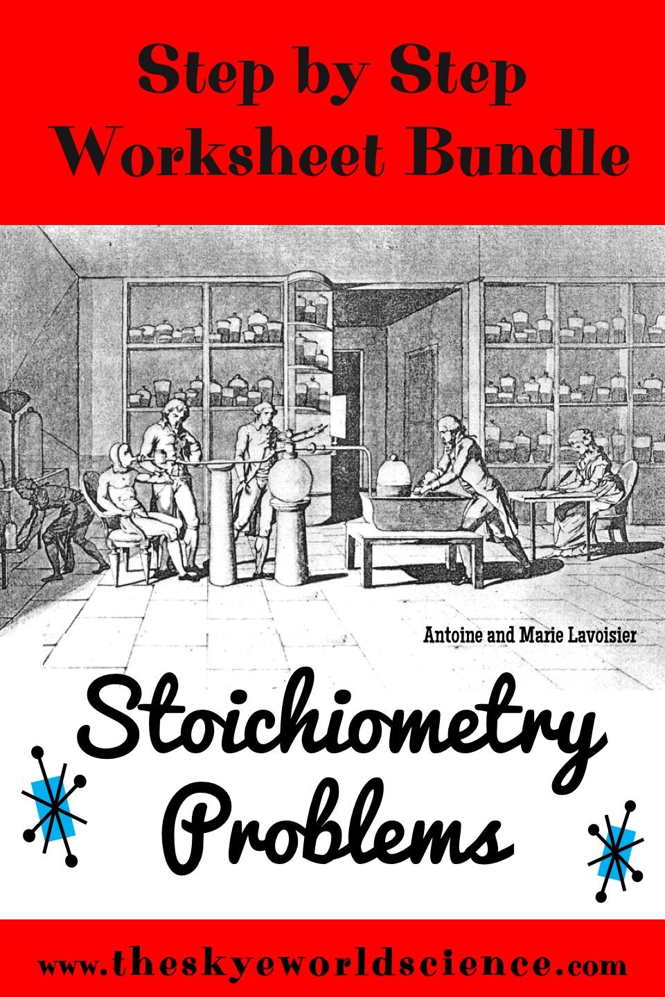 Bundle of Lessons - Stoichiometry Problems Step by Step