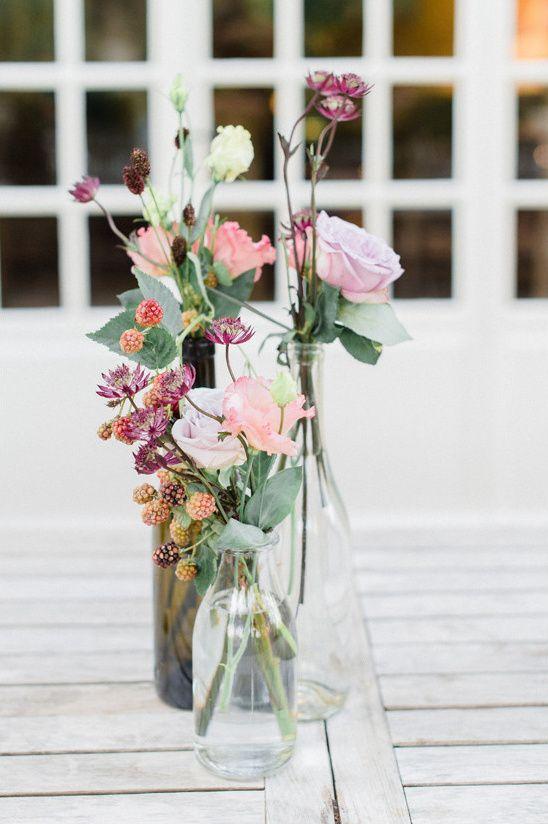 Summer Romance Garden Wedding Fleurs Centre De Table Et Idee Deco
