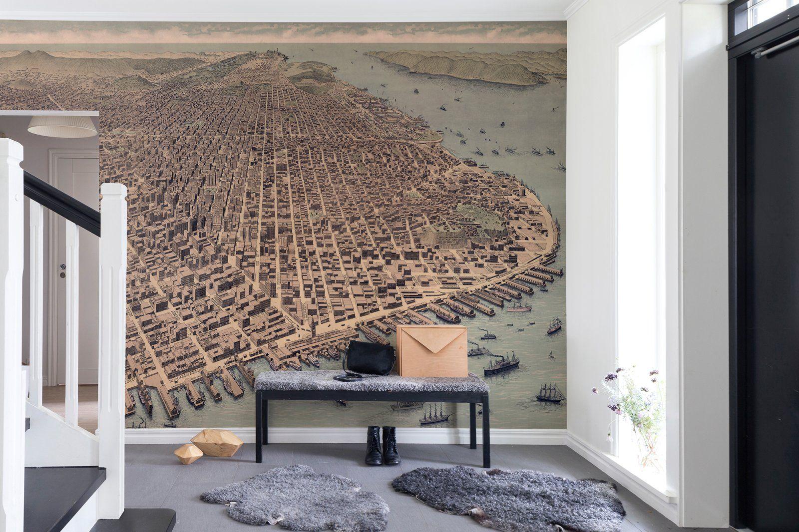 A City Rises   hyatt centric in 2019   Wallpaper decor ...