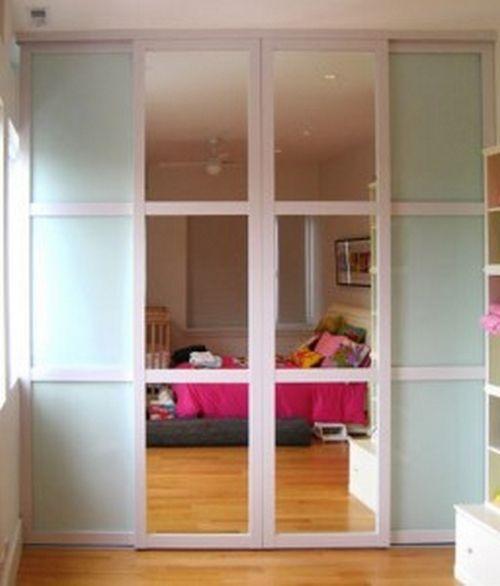 Automatic sliding closet doors