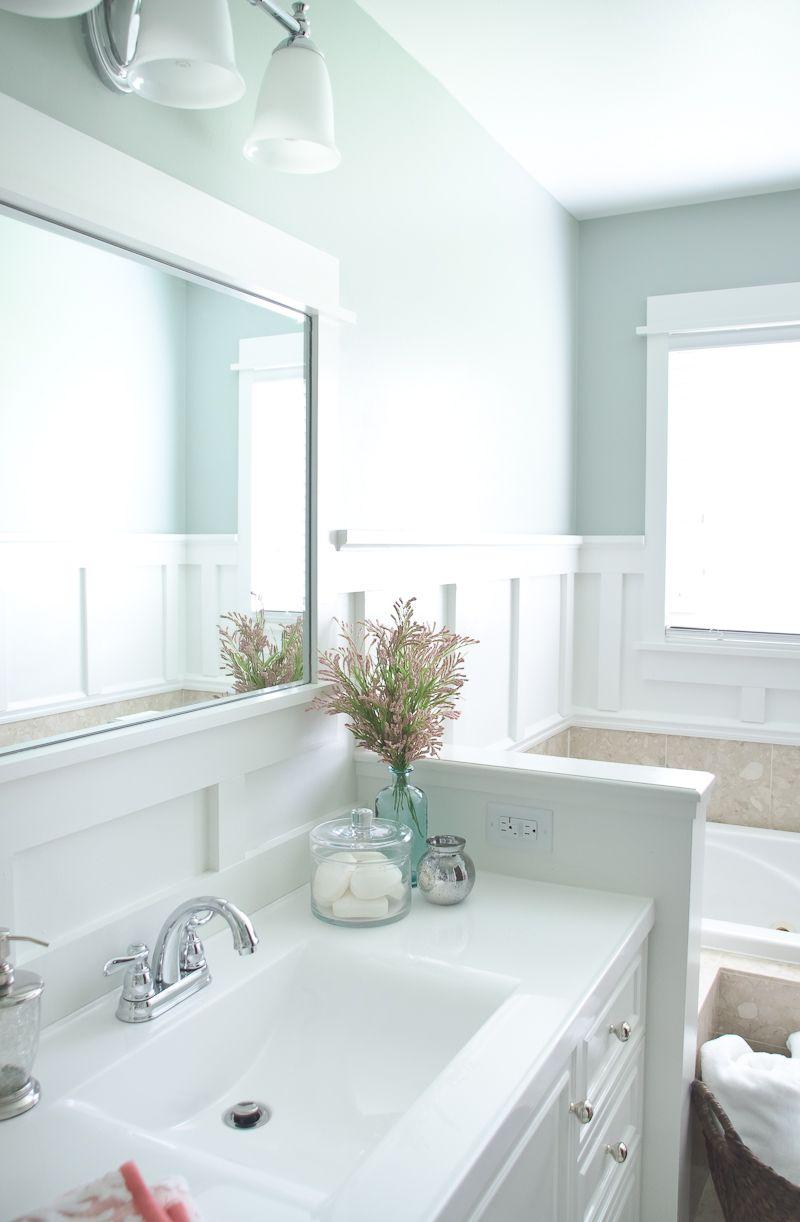 Lowe's Bathroom Makeover - Reveal | Bathroom makeover ...