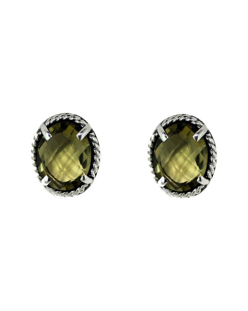 Lori Bonn Silver Quartz Earrings is on Rue. Shop it now.