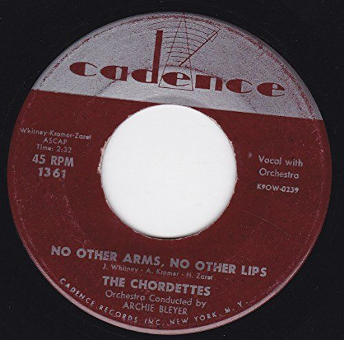 """45vinylrecord No Other Arms No Other Lips/We Should Be Together (7""""/45 rpm) CADENCE http://www.amazon.com/dp/B00MTX4SD6/ref=cm_sw_r_pi_dp_526Dvb0E798VA"""