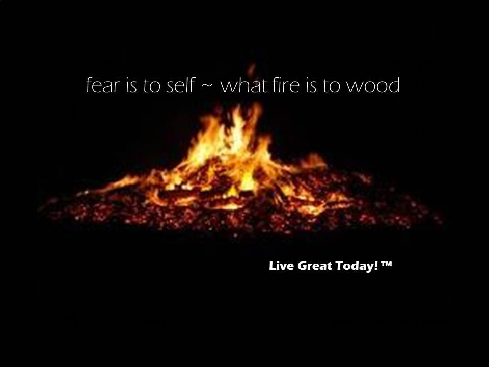 fear is to self ~ what fire is to wood #fear #livegreattoday #quotes #quote #belief #motivation #inspiration