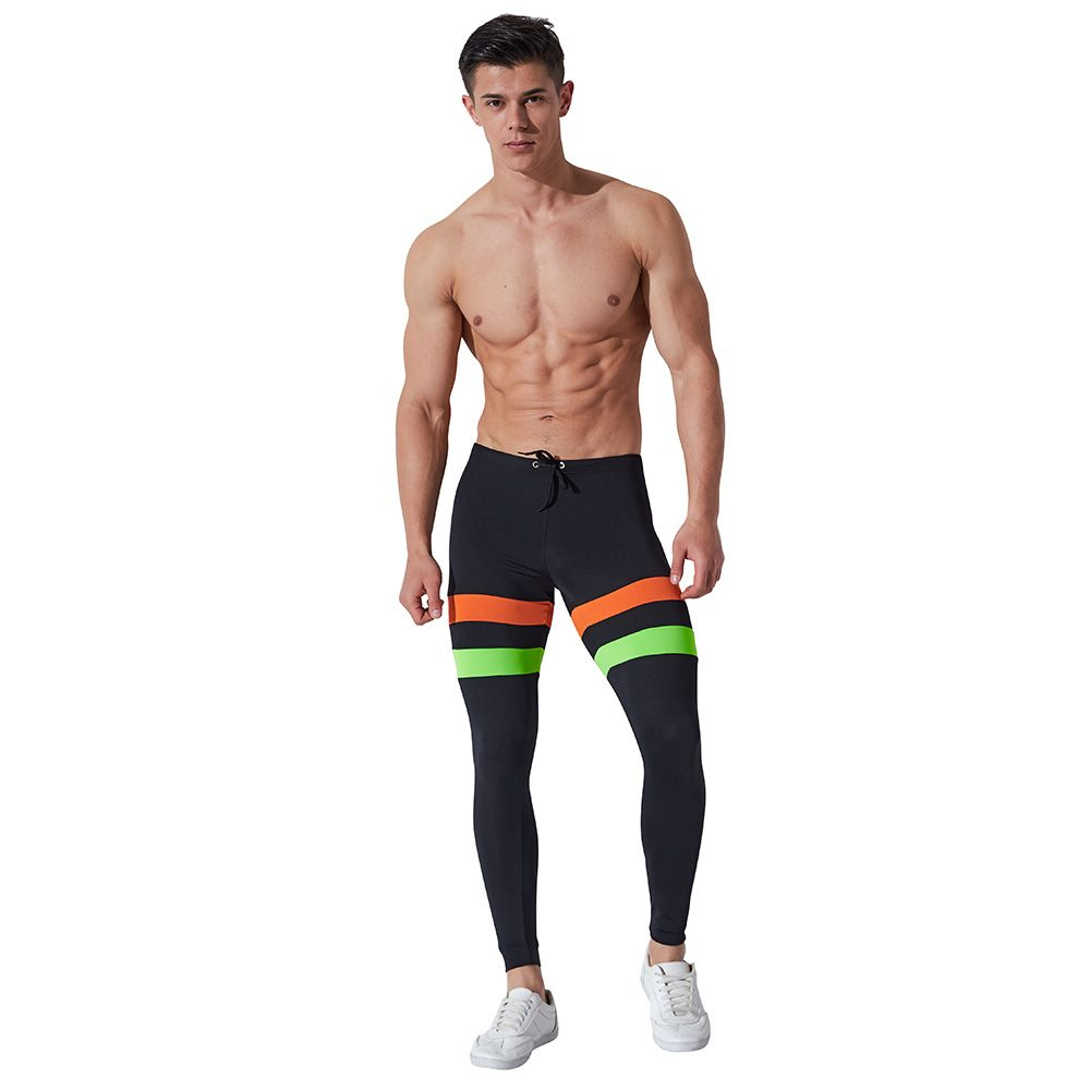 Men/'s Workout Shorts Sports Boxer Brief Running Jogging Camo Compression Trunks