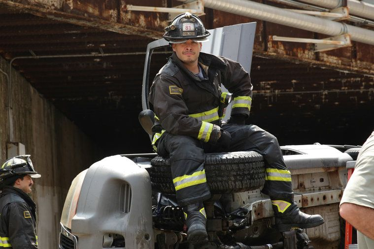 Behind the Scenes: Always Photos from Chicago Fire on NBC.com