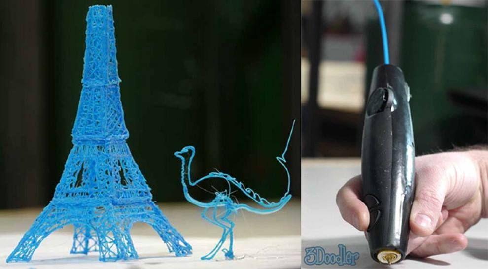 3Doodler la prima penna che scrive in 3D. Fantastica! http://www.the3doodler.com/  Hi Tech www.ezapping.com