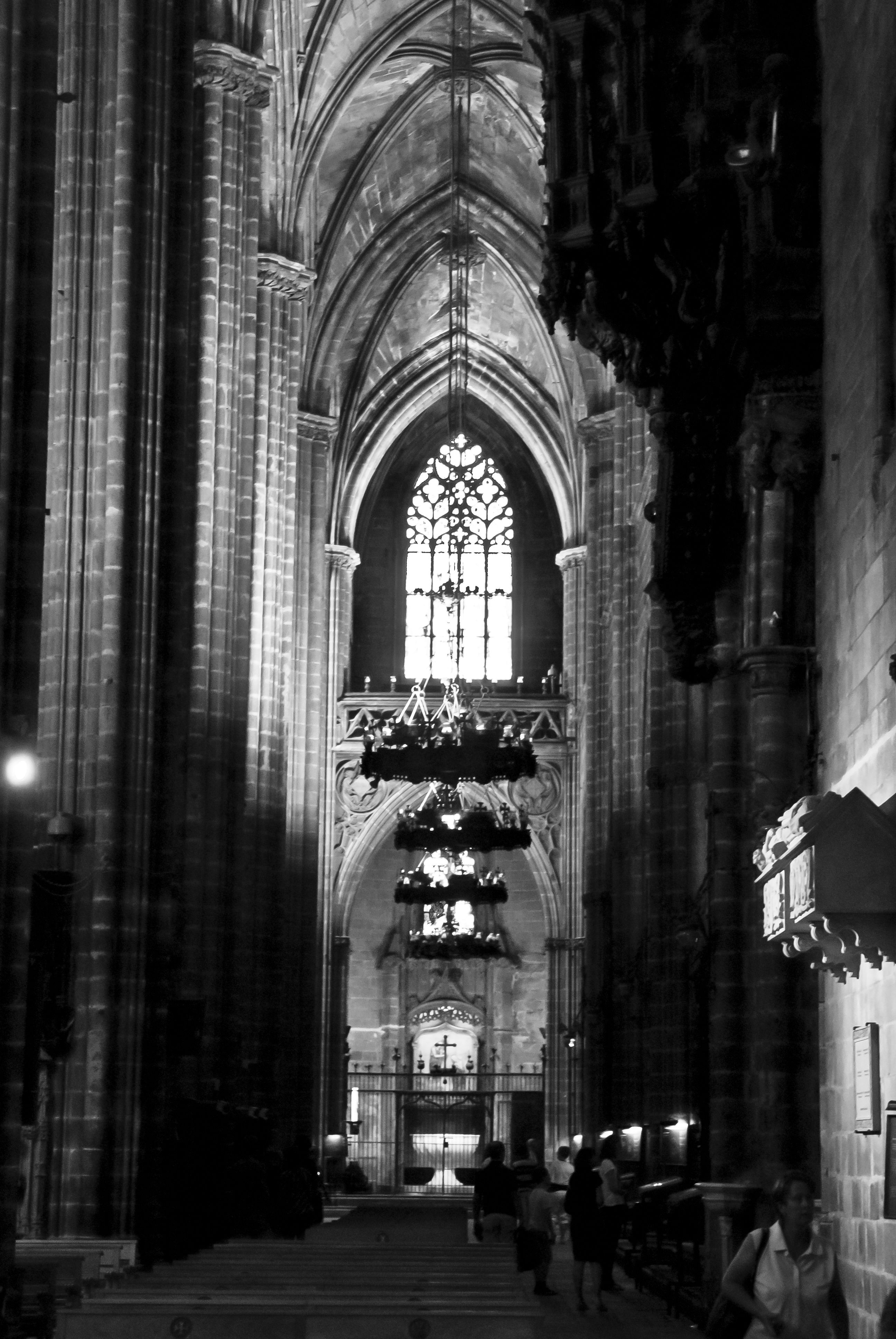 Barcelona Cathedral, Gothic Quarter. Barcelona, Spain