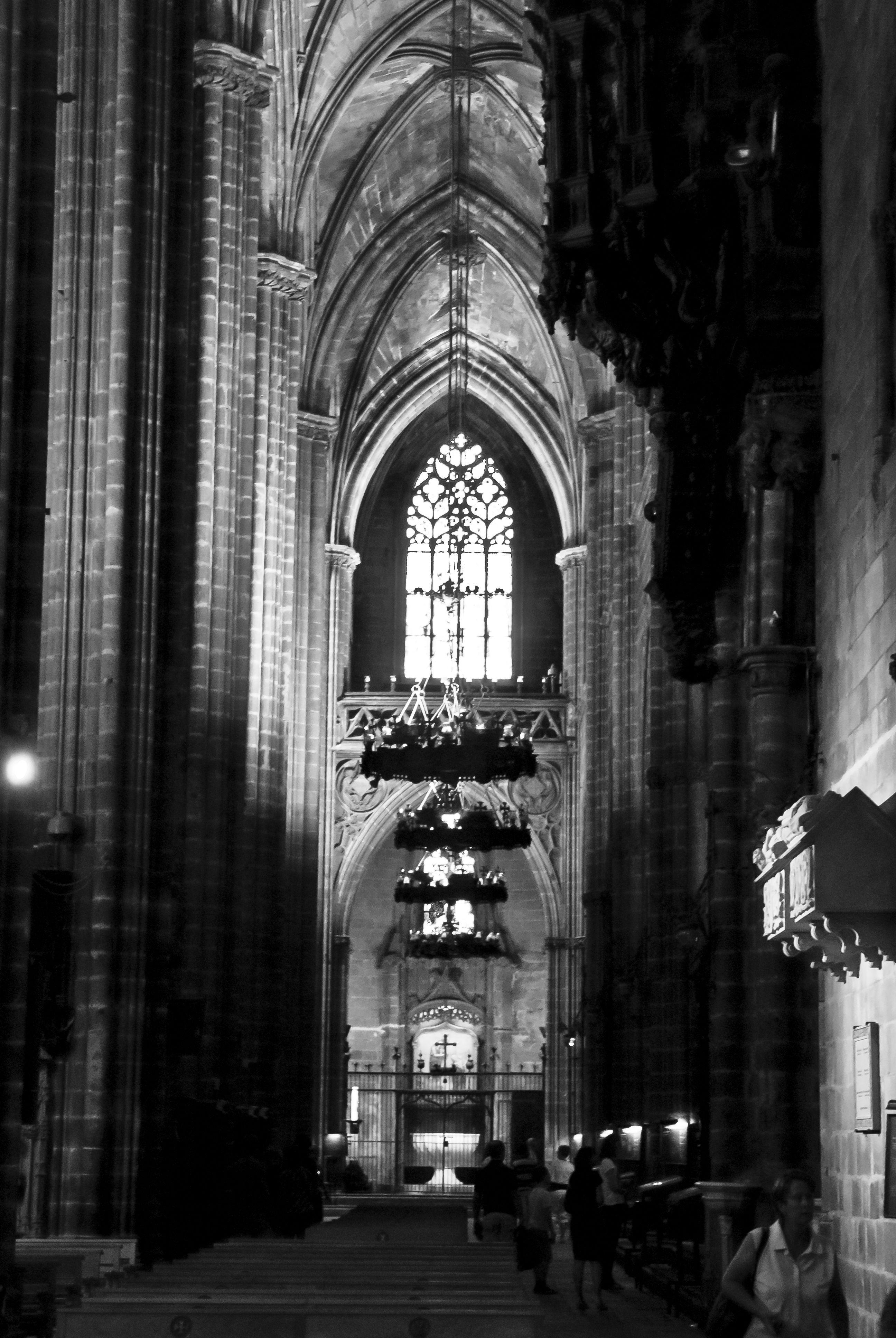 Barcelona Cathedral, Gothic Quarter. Barcelona, Spain